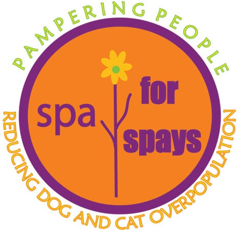 Spa for Spays. Pampering people, reducing dog and cat overpopulation.